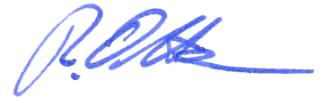 Signatur Robert Otten